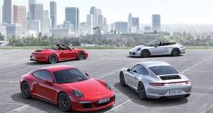 Porsche Carrera 911 GTS и GTS Cabriolet похвастались сверхмощными двигателями