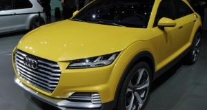 Audi TT Offroad: новый гибридный внедорожник Audi готовится к запуску
