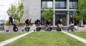 Складные электрические велосипеды Yikebike Model V & C (видео)