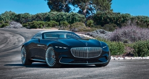 Mercedes-Maybach 6 Cabriolet – розкіш у чистому вигляді
