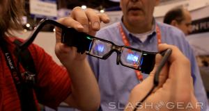 CES 2012: Lumus представила  очки с 3D дисплеем