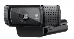Logitech HD Pro Webcam C920 – первая Full HD веб-камера с оптикой Carl Zeiss и 20-шаговым автофокусом премиум-уровня