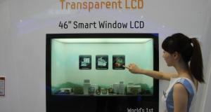 Прозрачная LCD-панель в 46 дюймов от Samsung