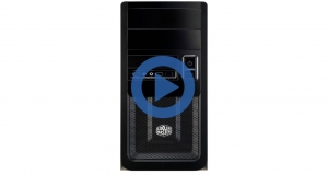 Корпус Cooler Master Elite 343, с БП Elite Power 460Вт