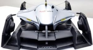 Audi Airomorph - удивительный концепт-кар, вдохновленный катамараном