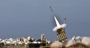 Противоракетная оборона «Железный купол» в действии: одновременый перехват 15 ракет