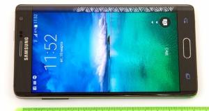 Видеообзор смартфона Samsung Galaxy Note Edge: теперь с изогнутым экраном