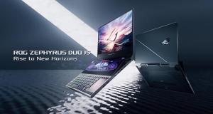 Геймерський ноутбук із двома екранами ROG Zephyrus Duo 15 доступний в Україні