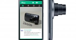 Samsung Galaxy K zoom с уникальным приложением Vine