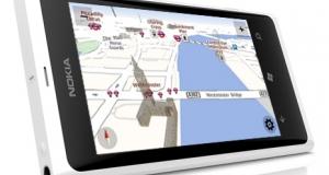 Nokia обновила приложения Maps и Drive для WР-смартфонов Lumia