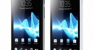 Sony представила новый смартфон Xperia Neo L MT25i на Android 4.0 Ice Cream Sandwich