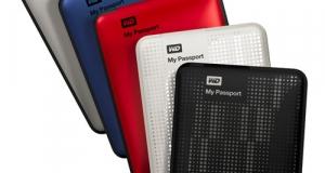 В линейке внешних HDD Western Digital My Passport появилась модель на 2 ТБ