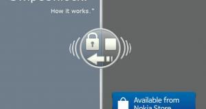 Разблокировка экрана в стиле MeeGo для Nokia Belle
