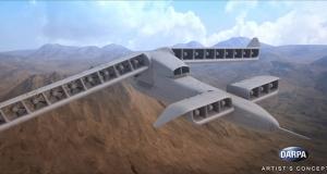 DARPA розробила концепт безпілотних літаків вертикального зльоту та посадки X-Plane