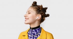 Нові  навушники Huawei Freebuds 3i з приглушенням шуму
