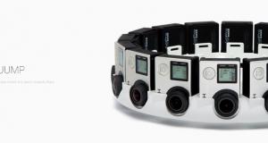 Новая платформа виртуальной реальности Jump с использованием камер GoPro