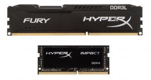 Новые модули памяти в линейках HyperX FURY и Impact