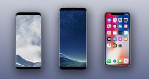 Iphone X vs Samsung Galaxy S8: попереднє порівняння