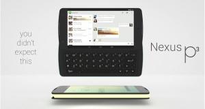 Смартфон моей мечты: модульный Nexus P3 с QWERTY-клавиатурой, геймпадом и дополнительным аккумулятором