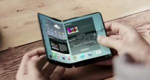 Samsung тестирует свой самый безумный концепт смартфона