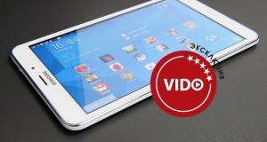 Обзор планшета Samsung Galaxy Tab 4 8.0 3G: пригож лицом да хорош умом