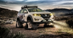 Nissan представив гусеничний X-Trail - Rogue Trail Warrior