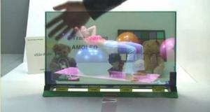 Прозрачные и гибкие AMOLED новинки от Samsung.