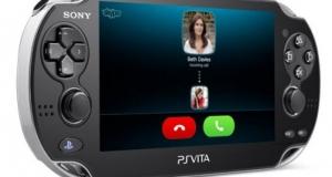 Звоните по Skype прямо с игровой приставки PlayStation Vita!