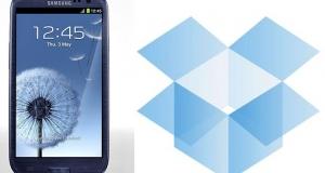 Купи новенький Samsung Galaxy S III и получи в подарок 50 Гб от Dropbox