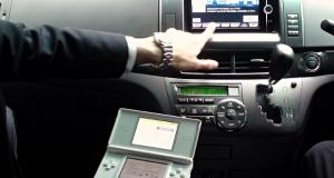 Toyota представила GPS-навигатор с Nintendo DS в качестве дистанционного пульта