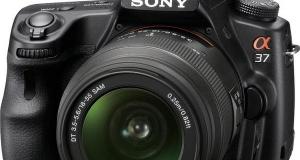Sony SLT-A37 - инновационные технологии для начинающих фотографов
