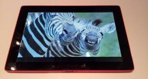 Sharp дебютирует с образовательным планшетом на Intel Medfield с ОС Android / Windows 8 на борту