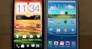 Samsung Galaxy S III против HTC One X. Битва титанов на ваших глазах