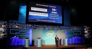 Стенды Intel на Computex 2012