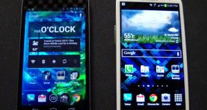 Samsung Galaxy S III против Samsung Galaxy Nexus, битвы галактик