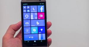 HTC представила One M8 на Windows: характеристики, цена и дата релиза