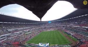Мексиканская футбольная команда прикрепила GoPro к орлу, чтобы заснять игру
