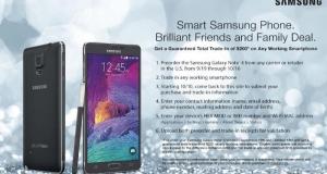 Как сэкономить $200 на предзаказе фаблета Samsung Galaxy Note 4