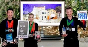 LG отримала вищу нагороду CES 2018 за OLED-телевізор з технологією AI