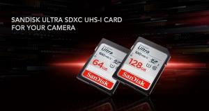 Карти пам'яті SanDisk SDXC Ultra: знімайте, зберігайте та передавайте більше, ніж будь-коли!