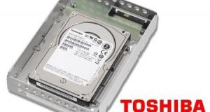 Toshiba работает над технологией для дисков на 600Тб