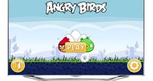Популярная игра Angry Birds на Samsung SMART TV
