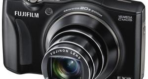 FinePix F800EXR от Fujifilm – королева беспроводных технологий