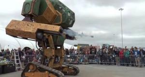 Американцы создали гигантского робота, чтобы сразиться с японцами