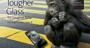 Corning представила новое поколение закаленного стекла  Gorilla Glass 4