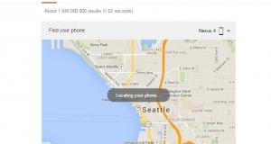 Google поможет быстро найти телефон через поисковую строку