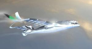 Авиалайнер будущего на солнечных панелях