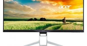 Acer выпускает 34-дюймовый изогнутый монитор разрешением Quad HD