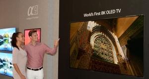 LG представить перший у світі 8K OLED-телевізор