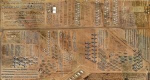 Удивительное зрелище: площадка для хранения «старой» техники ВВС США